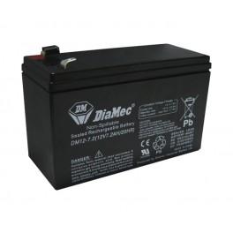 Bateria Ácida 12V 7Ah (151x65x94)